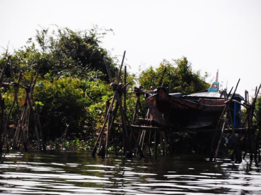 Zdjęcia: nieopodal, Krong battambang, Wodna wioska 6, KAMBODżA