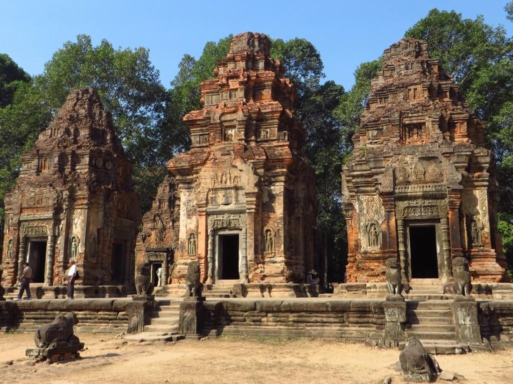 Zdjęcia: okolice Siem Reap, Angkor, Świątynia Prah Ko, KAMBODżA