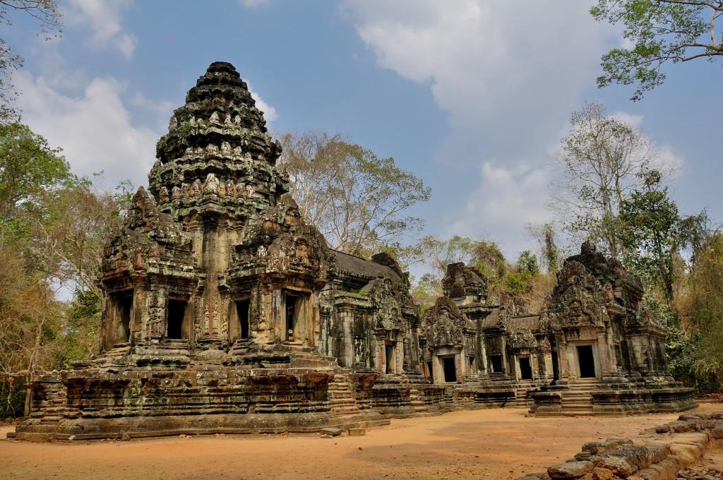 Zdjęcia: Angkor, Siem Reap, Thommanon Temple, KAMBODżA