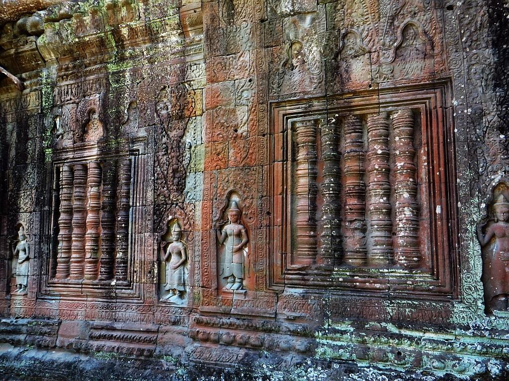 Zdjęcia: okolice Siem Reap, Angkor, Świątynia Prah Khan, KAMBODżA