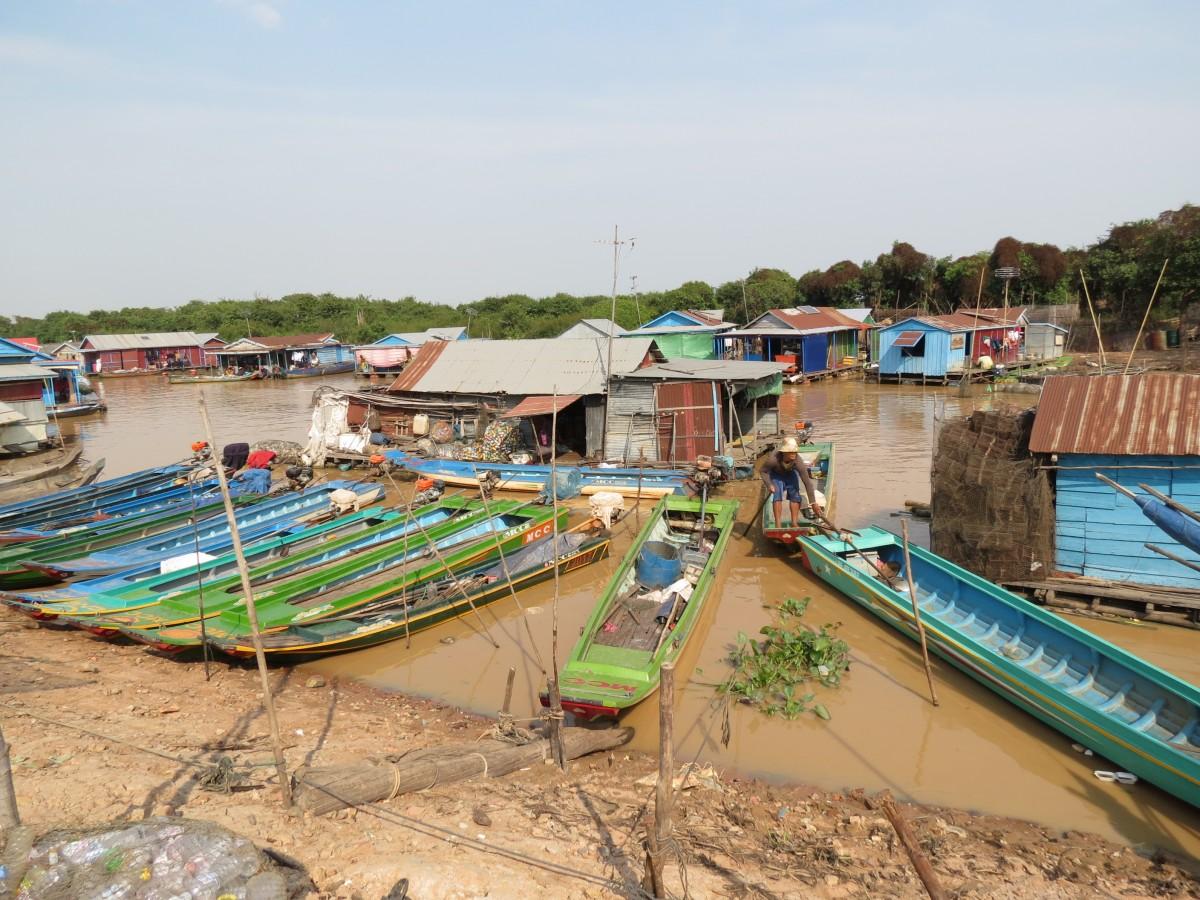 Zdjęcia: Siem Rep, Azja, Kambo życie na wodzie, KAMBODżA