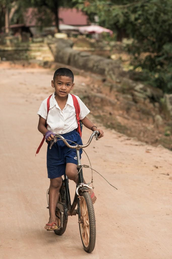 Zdjęcia: Roulos, Prowincja Siem Reap, Do przodu ;-), KAMBODżA