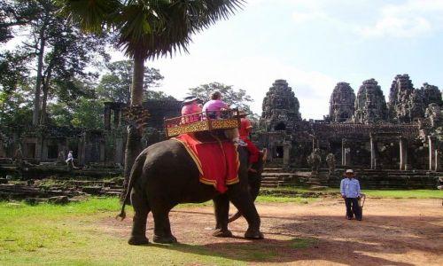Zdjecie KAMBODżA / okolice Siem Reap / świątynia Bayon / zwiedzanie dla leniwych - światynia Bayon