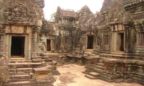 Zdjecie KAMBODżA / brak / Angkor - świątynia Banteay Srei / Twierdza Kobiet