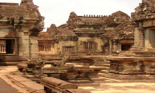 Zdjęcie KAMBODżA / brak / Angkor - świątynia Banteay Srei / Twierdza Kobiet