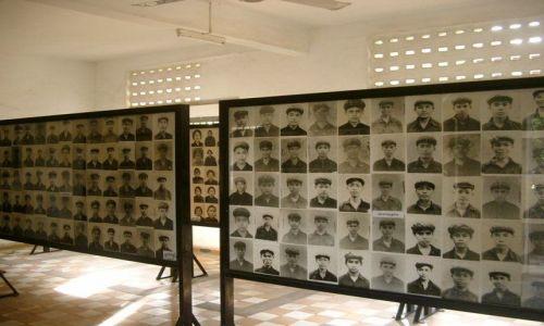 Zdjecie KAMBODżA / - / Phnom Penh - więzienie S21 / Konkurs-Twarze-