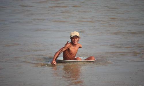 Zdjecie KAMBODżA / Siem Riep / wioska na wodzie / konkurs szczera radość