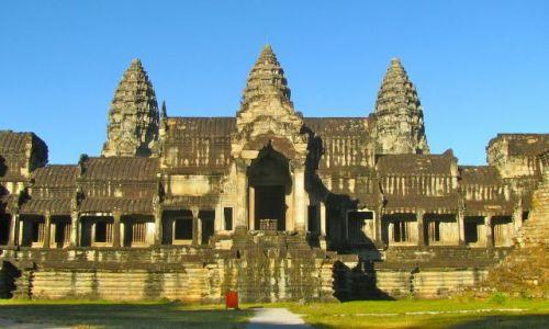 Zdjecie KAMBODżA / Sieam Reap / Angkor Wat / Angkor Wat
