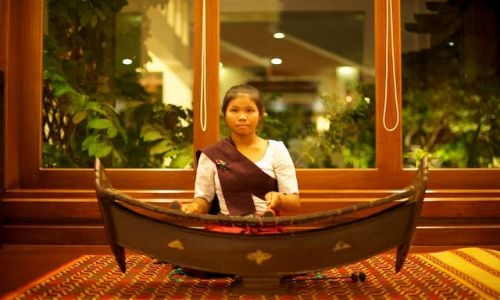 Zdjecie KAMBODżA / - / Siem Reap / Muzyka (Siem Reap, Cambodia)