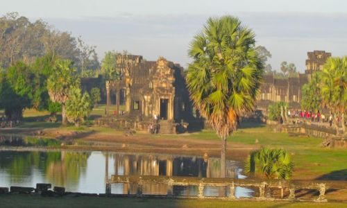 Zdjecie KAMBOD�A / siem reap / Angkor Wat / Swiatynie Angko