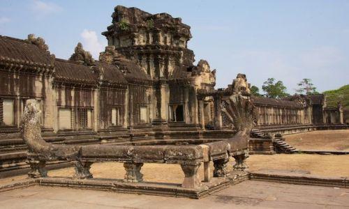 Zdjecie KAMBODżA / - / Siem Reap / Swiatynia w Ankor Wat (Cambodia)