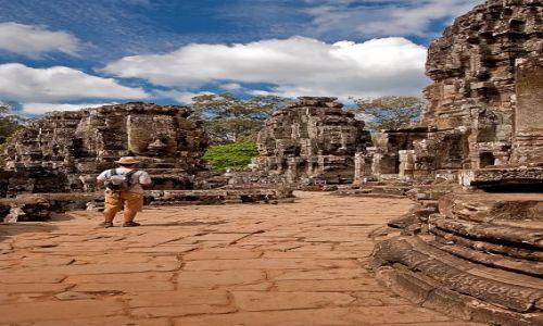 Zdjecie KAMBODżA / - / Siem Reap / kompleks świątyn Angkor