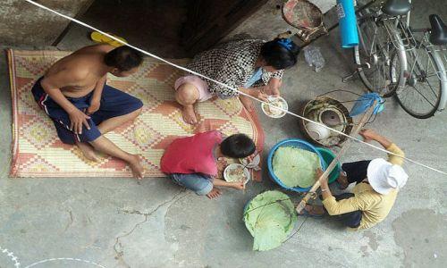 Zdjecie KAMBODżA / - / Phnom Penh / Śniadanie w Phnom Penh
