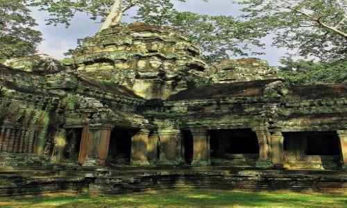Zdjecie KAMBODżA / Angkor Wat / Angkor Wat / Ślad czasu...