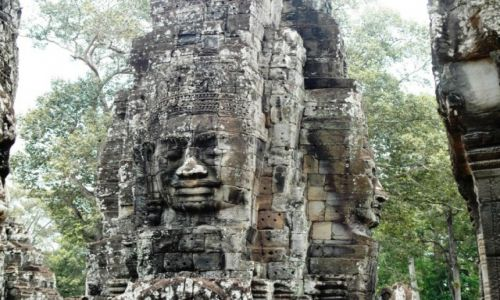 Zdjęcie KAMBODżA / - / Angkor / Janusowe Oblicze