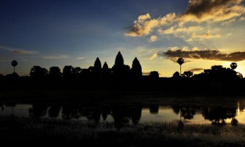 Zdjecie KAMBODżA / Równina Kambodżańska / Siem Reap / Angkor Wat