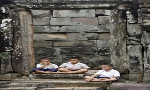 Zdjecie KAMBODżA / Kambodza / Siem Reap / Bakong