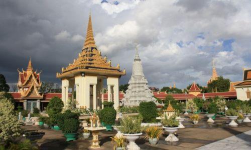 Zdjecie KAMBODżA / Phnom Penh / Phnom Penh / Srebrna Pagoda