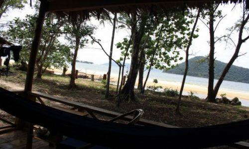 Zdjecie KAMBODżA / Koh Rong Samloem / Koh Rong Samloem / Widok z domku na Koh Rong Samloem