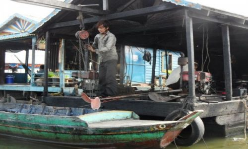 Zdjęcie KAMBODżA / ... / ... / floating villages 4