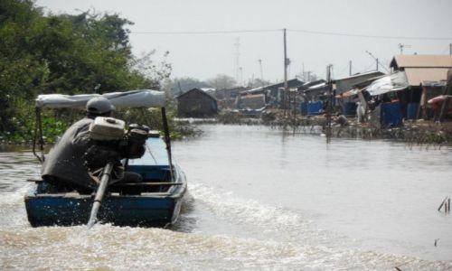 Zdjęcie KAMBODżA / ... / ... / floating villages 5
