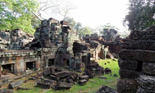 Zdjęcie KAMBODżA / siem reap / Angkor / angkor what?