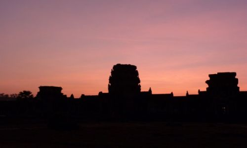 Zdjecie KAMBODżA / Siam Reap / Angkor / Wokół Angkor Wat
