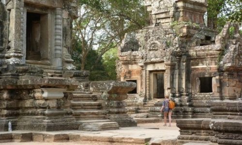 Zdjęcie KAMBODżA / Siem Reap / Angkor / Wokół Angkor Wat