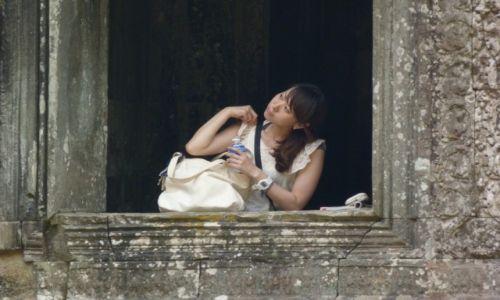 Zdjecie KAMBODżA / Siem Reap / Angkor / Wokół Angkor Wat
