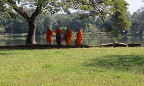 Zdjęcie KAMBODżA / Angkor / Angkor / W cieniu drzewa