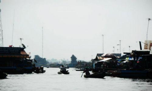 Zdjęcie KAMBODżA / Krong battambang / gdzies niedaleko / Wodna wioska 2