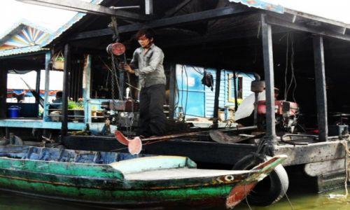 Zdjęcie KAMBODżA / Krong battambang / gdzies niedaleko / Wodna wioska 3