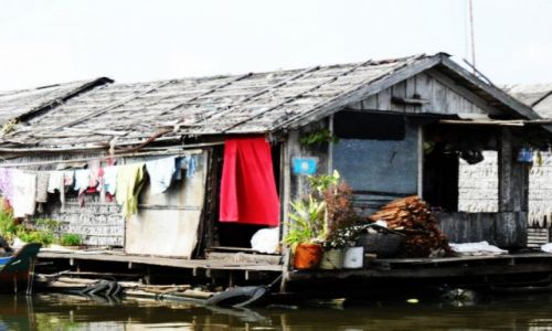 Zdjęcie KAMBODżA / Krong battambang / nieopodal / Wodna wioska 4