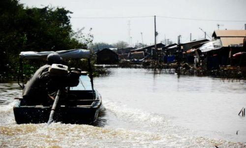 Zdjęcie KAMBODżA / Krong battambang / nieopodal / Wodna wioska 5