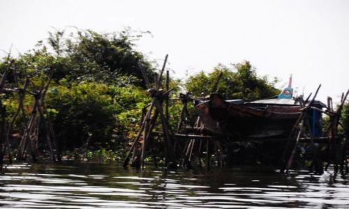 Zdjęcie KAMBODżA / Krong battambang / nieopodal / Wodna wioska 6