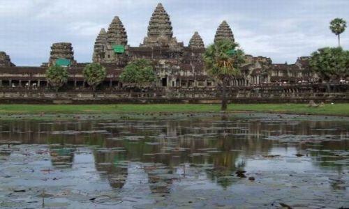 Zdjecie KAMBODżA / dawna stolica Khmerów / Kambodża / Angkor Wat