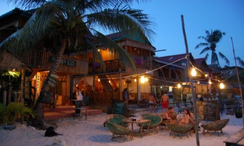 Zdjecie KAMBODżA / - / Koh Rong Island / 'Beach Bar'