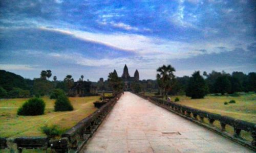 Zdjecie KAMBODżA / Siem Reap / Angkor Wat  / Angkor Wat