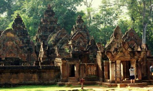 Zdjecie KAMBODżA / - / Świątynie Angkor Wat / Urokliwe miejsce