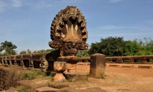 Zdjęcie KAMBODżA / środkowa Kambodża / Kompong'day / Stary most