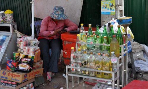 Zdjecie KAMBODżA / północno-zachodnia Kambodża / Siem Reap / Stacja benzynowa