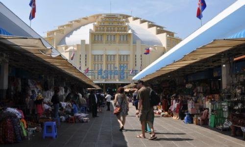 Zdjecie KAMBODżA / Phnom Penh / centrrum Phnom Penh / Psar Thmei czyli bazar centralny