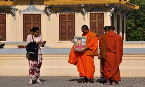 Zdjecie KAMBODżA / Phnom Penh / pałac królewski / Ładny obrazek