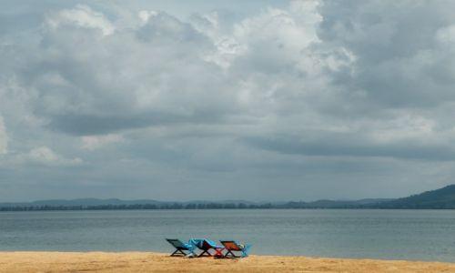 Zdjęcie KAMBODżA / Sihanoukville  / Zatoka Tajlandzka / Plaża