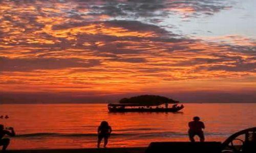 Zdjecie KAMBODżA / Sihanoukville / Otres Village / Zachód Słońca