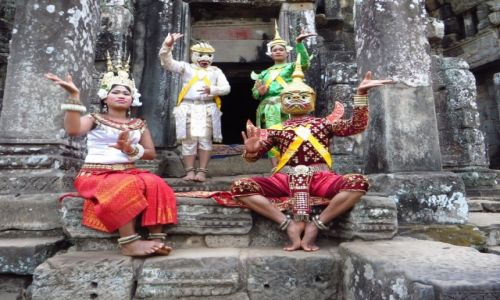 Zdjęcie KAMBODżA / Angkor / Angkor Thom / Świątynia Bayon