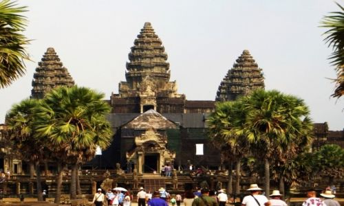 Zdjęcie KAMBODżA / Angkor / okolice Siem Reap / Angkor Wat