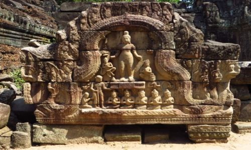 Zdjecie KAMBODżA / Angkor / okolice Siem Reap / Świątynia Ta Som