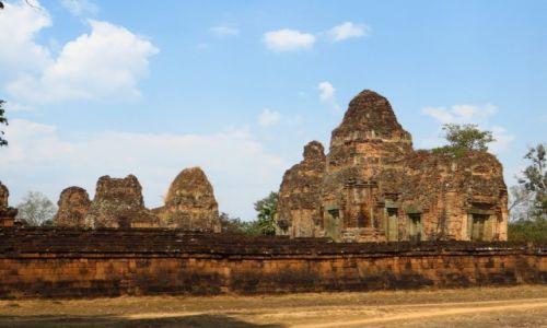 Zdjęcie KAMBODżA / Angkor / okolice Siem Reap / Świątynia Pre Rup