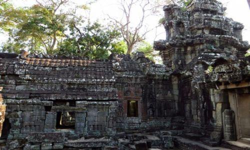 Zdjęcie KAMBODżA / Angkor / okolice Siem Reap / Świątynia Banteai Kdei